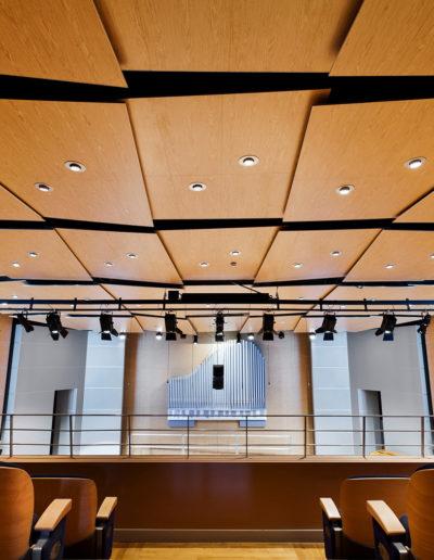 Släta ekpaneler, Gustafs: Musikhögskolan, Jaroslaw, Polen