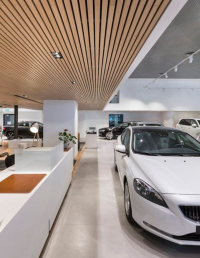 Linear rib, Gustafs: Volvos showroom, Ranana, Israel