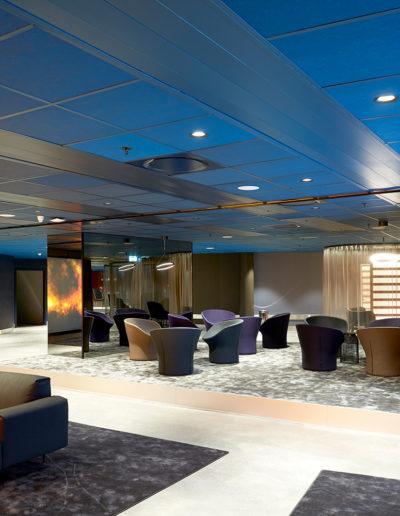 Parafon Palette, Paroc: Premium Lounge, Ecicsson Globe, Stockholm