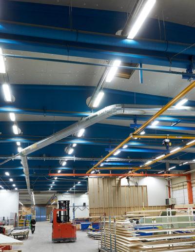 Paroc: Parafon buller i industrilokal hos Götenehus, Götene