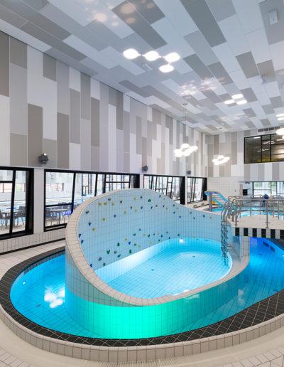 Paroc: Parafon Hygien och Parafon Palette i Ystads badhus