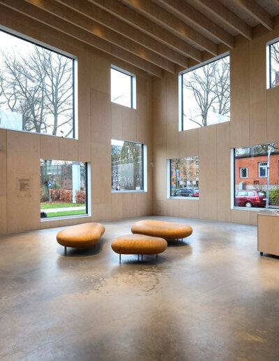 Troldtekt akustikplattor: Skissernas museum, Lund