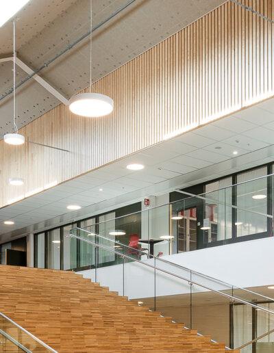 Industrial Nature, Rockfon: Adolfbergsskolan, Knivsta