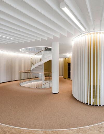 Akustikmiljö: Ecosund-bafflar, Powerhouse, Oslo