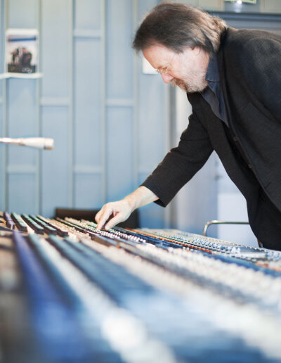 Akustikmiljö: Single och Ecosund, Benny Anderssons studio